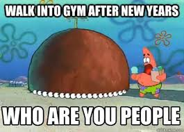 New Years Gym Meme - new years resolution gym memes shareology
