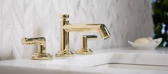 Unlacquered Brass Faucet Waterworks by Laura Kirar For Kallista Kallista