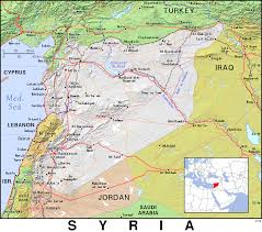 Map Of Syria by Sy Syria Public Domain Maps By Pat The Free Open Source
