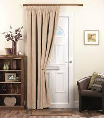 dreams u0027n u0027 drapes chenille spot thermal pencil pleat coated door