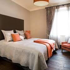 bedroom brown and orange bedroom ideas perfect on with regard to