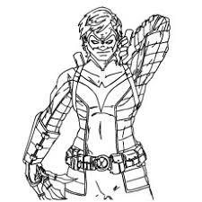 coloring beautiful bane coloring pages nightwing batman