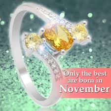 november birthstone topaz or citrine november birthstone 1 2ct yellow topaz 925 sterling silver ring