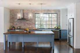 brick kitchen backsplash brick kitchen backsplash contemporary kitchen pinney designs