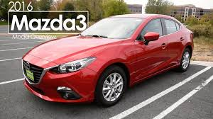 2016 mazda3 review test drive youtube