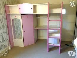 lit bureau armoire combiné lit bureau armoire combine lit mezzanine fille avec bureau lit