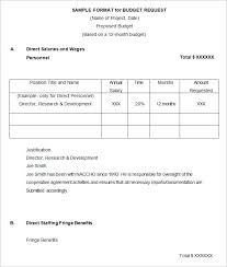 13 budget proposal templates free word pdf documents download