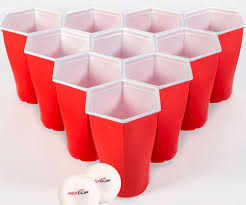 heart shaped mugs that fit together shaped pong cups