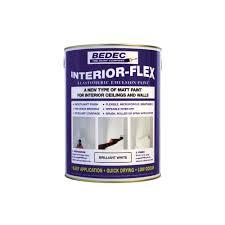bedec interior flex matt finish 5l paint type from glenwood