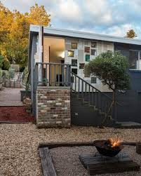 small house sustainably up cycled in mountains australia