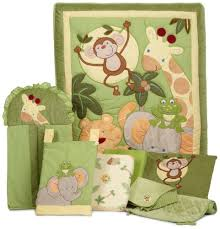 Jungle Themed Nursery Bedding Sets Green Nursery For Your Baby Itsy Bitsy Baby Mall