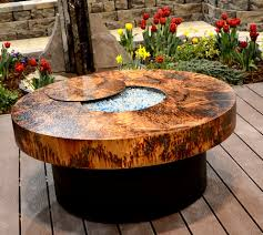 cocktail table fire pit athena cocktail table match lit