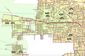 Las Vegas Neighborhood Map by Jet Noise Means Lower Property Taxes For Homes In These