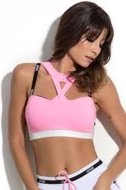 light pink sports bra hipkini stuttgart light pink neon sports bra for women hipkini