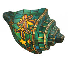 Tiffany Sconces Tiffany Style Stained Glass Mission Wall Sconce 11413116 Stained