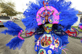 mardi gras indian costumes mardi gras indians take to the streets mardi gras and city