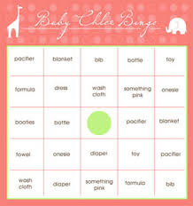 baby shower gift bingo print these free baby shower bingo cards on your home computer
