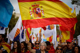 Colors Of Spains Flag Spain Celebrates National Day Amid Catalan Secession Crisis
