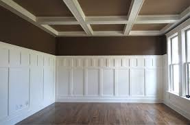 Spell Wainscoting Wainscoting Coffered Ceilings Formal Dining Room Pinterest