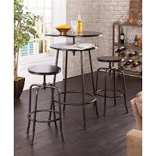 amazon com holly u0026 martin kalomar 3pc adjustable pub table
