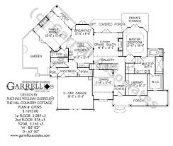 cottage house floor plans hill country cottage house plan house plans by garrell