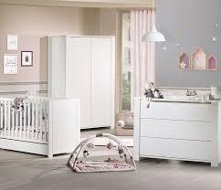 sauthon chambre lit bébé à barreaux 60x120 cm loft blanc en bois laqué sauthon