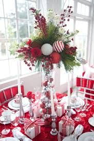 Centerpieces For Christmas by 50 Christmas Table Decoration Ideas Settings And Centerpieces