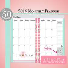 printable monthly planner 2016 free the mintgreen polkadot free download updated planner inserts a5