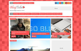 templates blogger material design 300 best free responsive blogger templates 2018 css author
