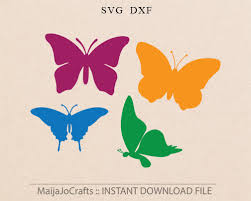butterfly svg summer svg butterfly silhouette svg files for