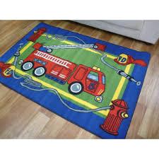 fire trucks monster truck stunt monster truck play rug rug designs