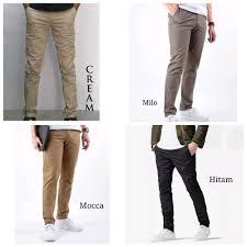 Celana Zara segini daftar harga celana chino panjang zara dc wr terbaru 2018