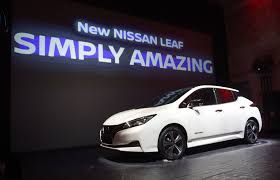 new nissan leaf new nissan leaf sales booming 9 000 orders and counting