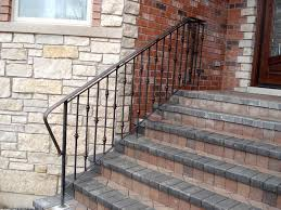 exterior stair railings fabrication u2014 home ideas collection to
