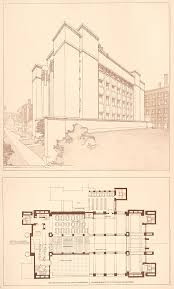 Frank Lloyd Wright Floor Plan The Steedman Collection