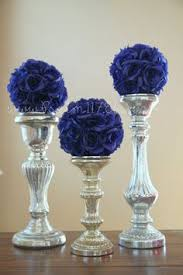 Blue Wedding Centerpieces by Saphire Blue Table Google Search Tablescapes Pinterest