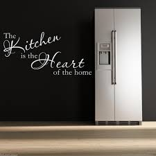 kitchen heart wall art sticker lounge room quote decal mural