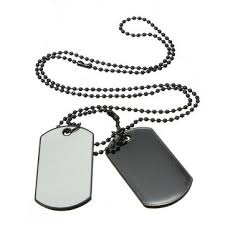dog tag pendant necklace images Army style cool white 2 dog tag beauty mens pendant neckl us 3 79 JPG
