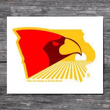 Cardinal Flag The Cardinal U0026 Gold State U2014 Bozz Prints