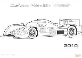 2010 aston martin dbr1 coloring page free printable coloring pages