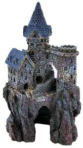 penn plax penn plax magical castle aquarium ornament aquarium