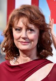 curly hair style for over 60 susan sarandon medium curly hairstyle with bangs for women over 60