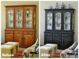 miss mustard seed milk paint china cabinet makeover