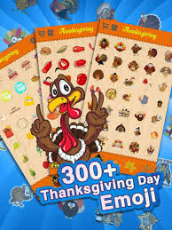 Thanksgiving Emoticons Free Thanksgiving Day Emoji Holiday Emoticon Stickers For Messages