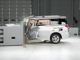 nissan minivan 2014 nissan quest driver side small overlap iihs crash test youtube