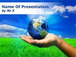 templates powerpoint earth hand earth templates for powerpoint presentations hand earth ppt