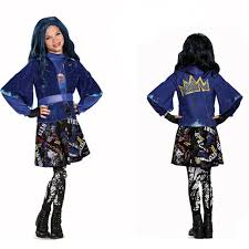 evie costume party second generation descendants evie princess dress