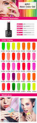 nail polish brands lvmay soak off gel one step uv neon color nail