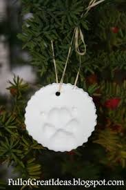 paw print ornament keepsake best recipe i found with