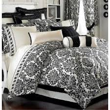 Black And White Queen Bed Set Stunning Sheffield Black U0026 White Damask Duvet Damask Comforters